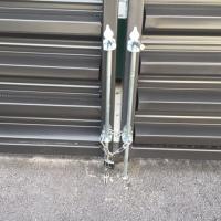 dumpster lock
